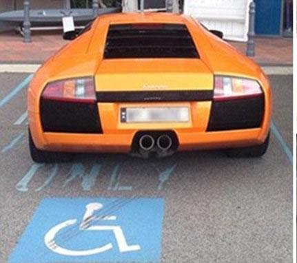 handicap-lambo-350
