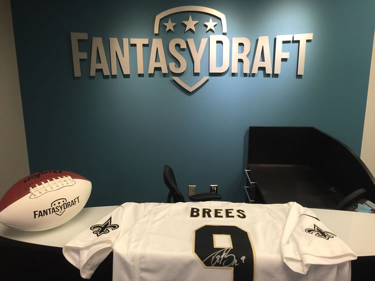 Win This Signed Drew Brees Jersey at FantasyDraft